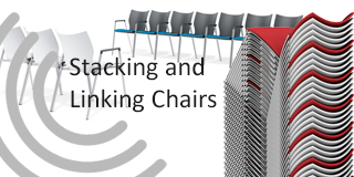 stacking and linking chairs and seats
