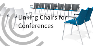 linking chairs for conferences and seminars